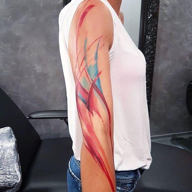 brushstroke-tattoo-by-adamkremertattoo