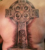 Beautiful Celtic Cross Tattoo Design
