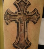 Celebrity News And Galleries Black Cross Tattoo