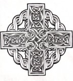 Celtic Cross Tattoo Designs On Paper Art