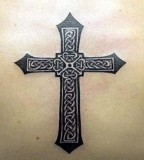 Faith Cross CelticTattoos Images Gallery