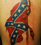 30 Cool Rebel Flag Tattoos Slodive