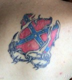 Rebel Flag Tattoo Artists