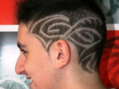 Hair Tattoo Designs For Men