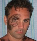 Awesome Tattoo Design Around Men Eye