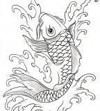 Koi Fish Tattoos Picture Sample