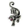 Panther Tattoos Sketch Design