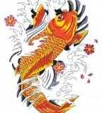 Make Your Own Koi Tattoo