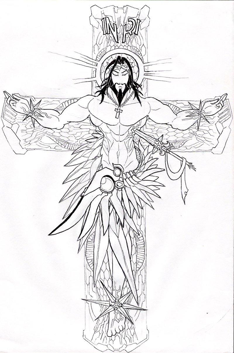 Lattest New Jesus Christ Tattoos And Cross Tattoos Hits All Tattoomagz