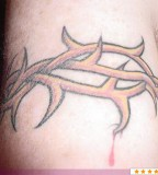 Simple Thorns Tattoo Picture