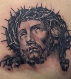 Jesus Tattoo Photo From Bluebird Tattoo Bluebird