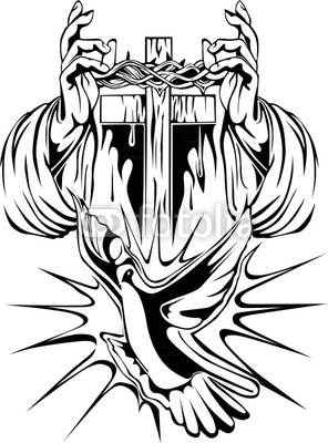 crown-of-thorns-tattoos-royalty-free-vector-tattoo-arm-cross-crown-of ...