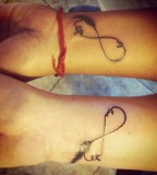 Keep Calm And Be A Directioner Matching Tattoos