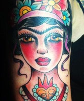 Danielle colby cushman cute arm tattoo design tattoomagz for Danielle colby tattoos