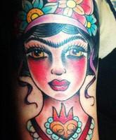 danielle colby cushman cute arm tattoo design tattoomagz. Black Bedroom Furniture Sets. Home Design Ideas