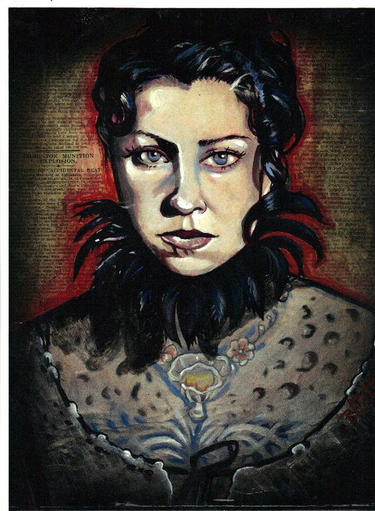 Danielle colbycushman portrait tattoos for Danielle colby tattoos