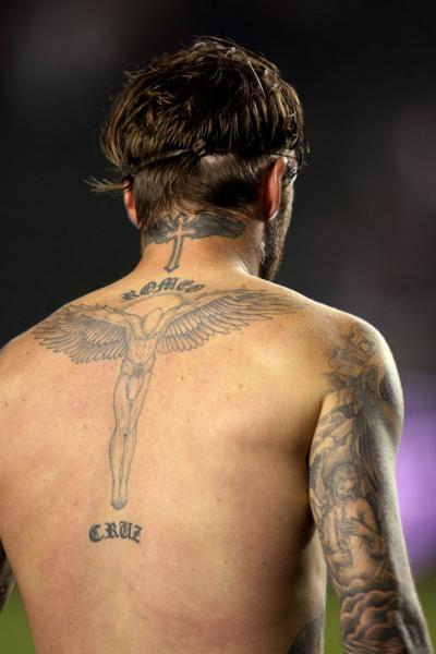 david beckham back tattoos tattoos designs tattoomagz