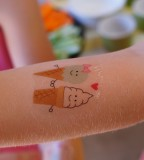 Frog Goose And Bear Diy Temporary Tattoos