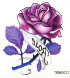 Rose DIY Temporary Tattoo Design Image