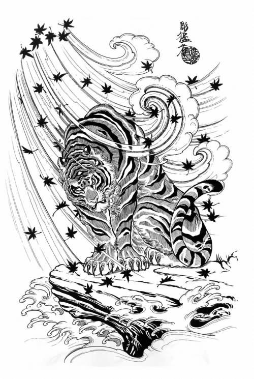 43e165f21 Japanese Tiger Tattoo Designs - | TattooMagz › Tattoo Designs / Ink ...