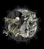 Tattoos Yin Yang With Dragon And Tiger Tattoo
