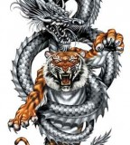 Crouching Tiger Hidden Dragon Tattoo Sample