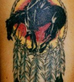 Tribal Dreamcatcher Tattoo For Men