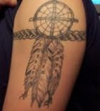 Dreamcatcher Tattoo Ideas on Arm