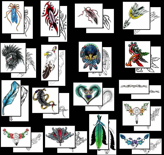 Feather Tattoos Design And What Do They Mean Feather Tattoos