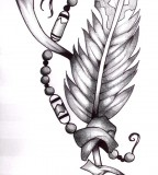 Cool Indian Feather Tattoo Designs