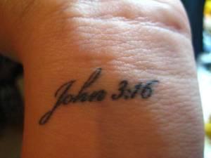 Bible Verse John 3 16 Wrist Tattoos Ideas Tattoomagz