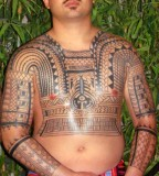 Filipino Tribal Tattoo Design for Men Body
