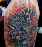 Firefighter Cover Up Firefighter Tattoo Pictures