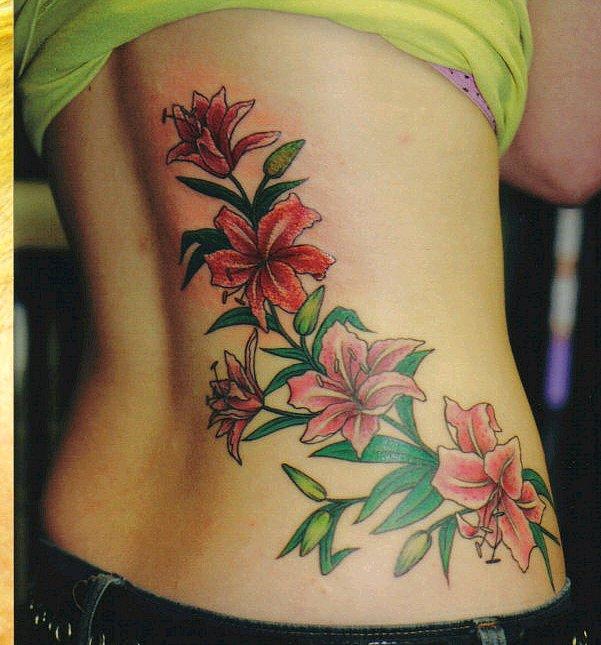 Flowers tattoo designs on lower back for women tattoomagz flowers tattoo designs on lower back for women mightylinksfo