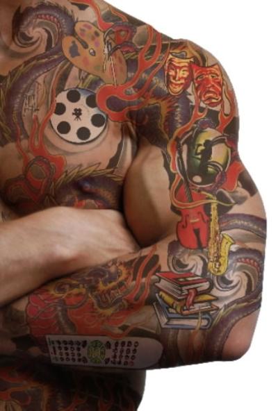 Tatto Crazy Art Ideas: Crazy Tattoo Designs 45 Painful 3d Tattoo Design Ideas
