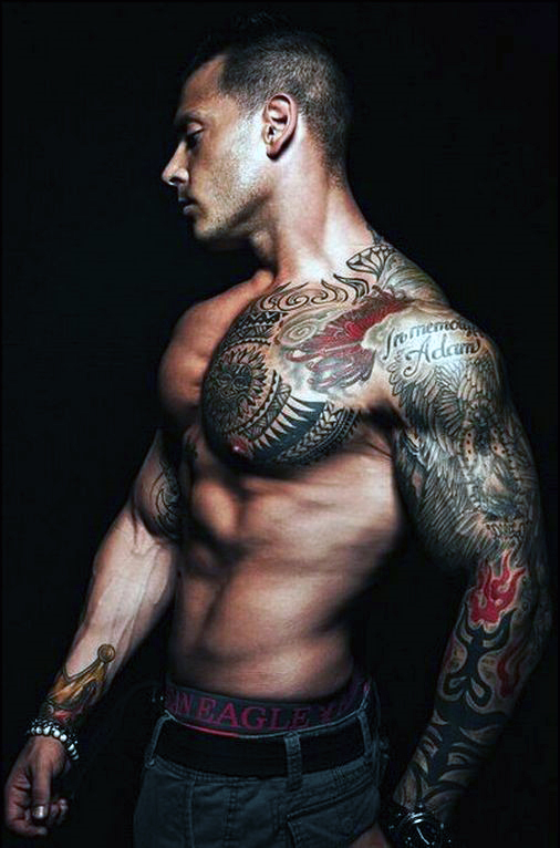 full arm sleeve tattoos for men