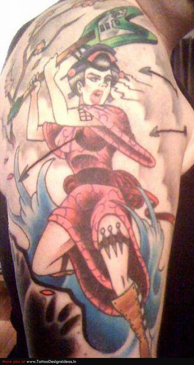 Meaning of geisha tattoos