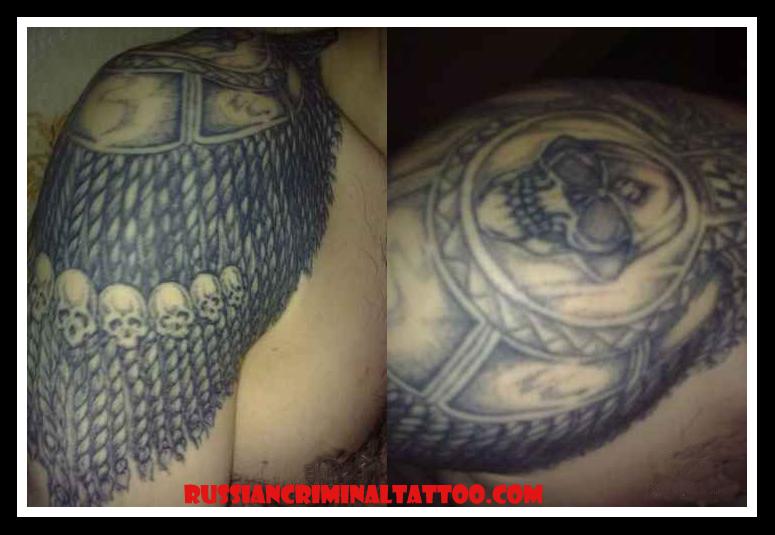 Russian criminal tattoo photos tattoomagz for Russian criminal tattoo meanings