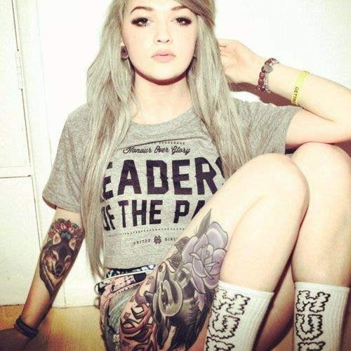 Tumblr Girl Tattoo Pictures Girls With Tattoos Tumblr
