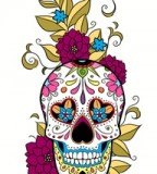 Mexican Skull Tattoo Design Ideas