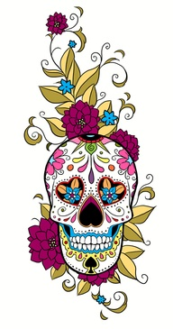 Sugar Skull Thigh Tattoo Skullspiration Nsfw Tattoomagz