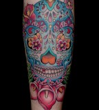 Girl Fashion Words Sugar Skull Tattoo Meaning