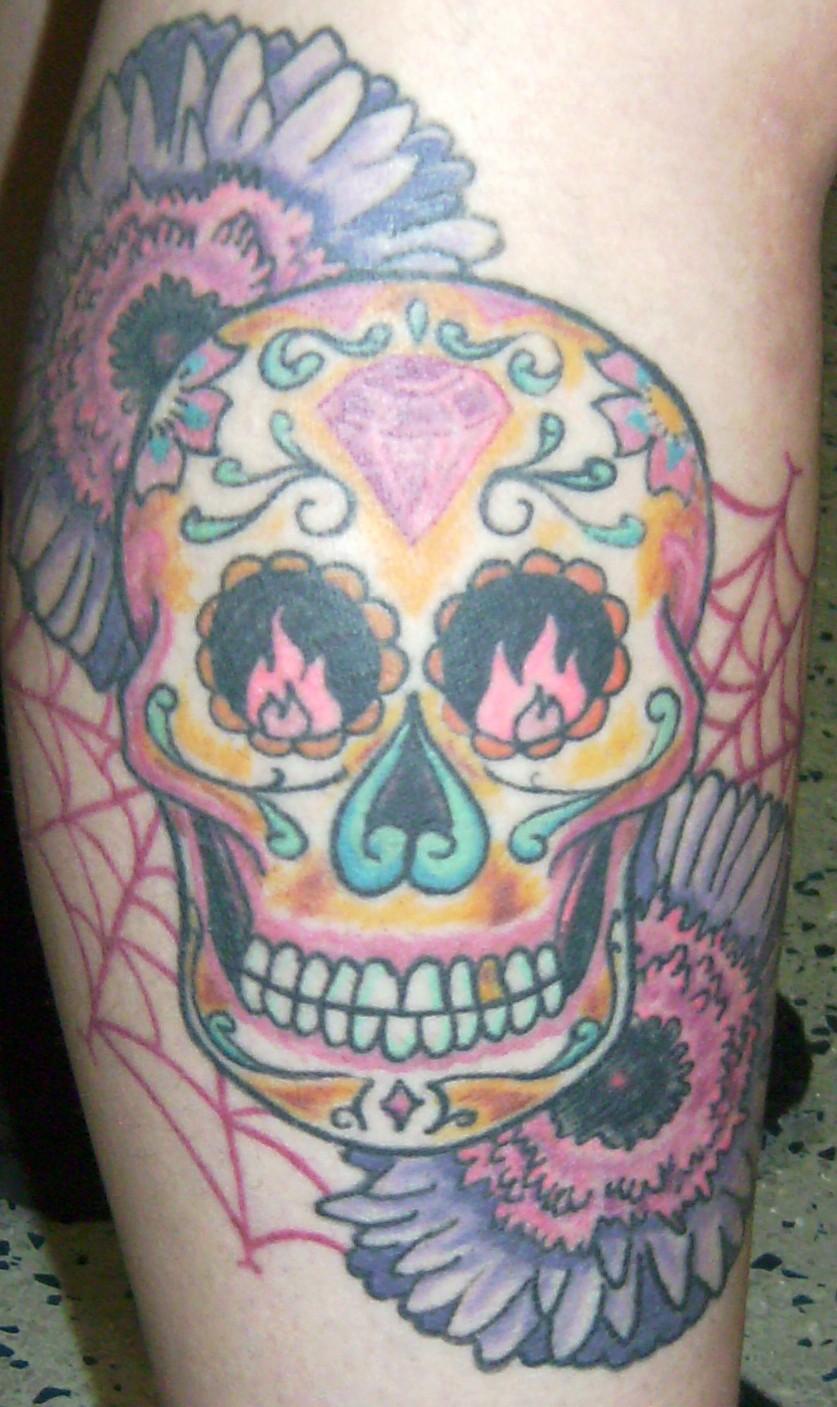 Sugar Skull Celebration Tattoo Tattoomagz