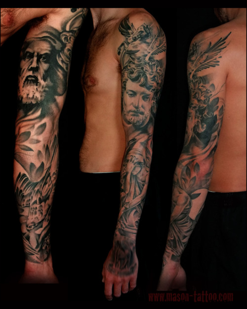 Stylish Greek Mythology Greek Mythology Tattoos Designs