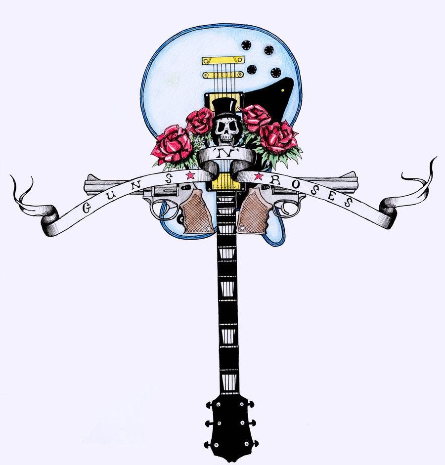Guns N Roses Tattoo Sketch Ideas Tattoomagz
