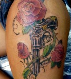 Cool Guns N Roses Tattoos Ideas