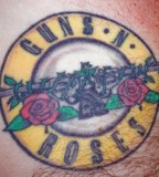 Guns N Roses Tattoos Logo Tattoo