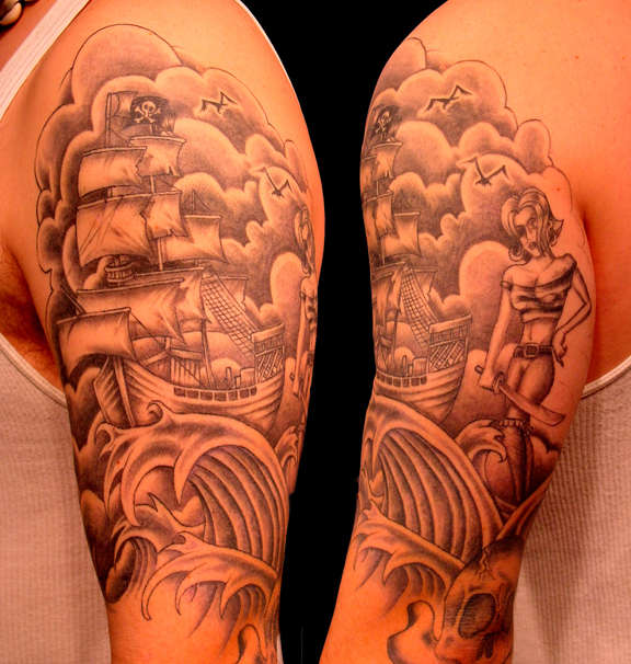 Best and Cool Half Sleeve Tattoo for Men - TattooMagz