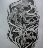 Half Sleeve Tattoo Design By Karlinoboy for Men