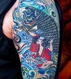 Japanese Half Sleeve Tattoo Design Ideas for Men